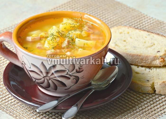 Сварить вкусный разваристый гороховый суп