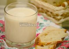 Пить топленое молоко вкусно с выпечкой