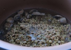 Залейте горячей водой в пропорции 1 к 2