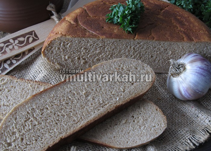 Ржаной хлеб в мультиварке