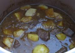 Готовое блюдо подавать горячим