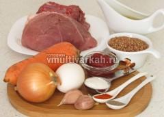 Приготовьте ингредиенты для гречаников