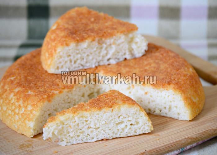 хлеб из рисовой муки в мультиварке