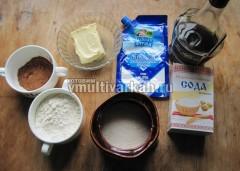 Подготовьте ингредиенты для торта