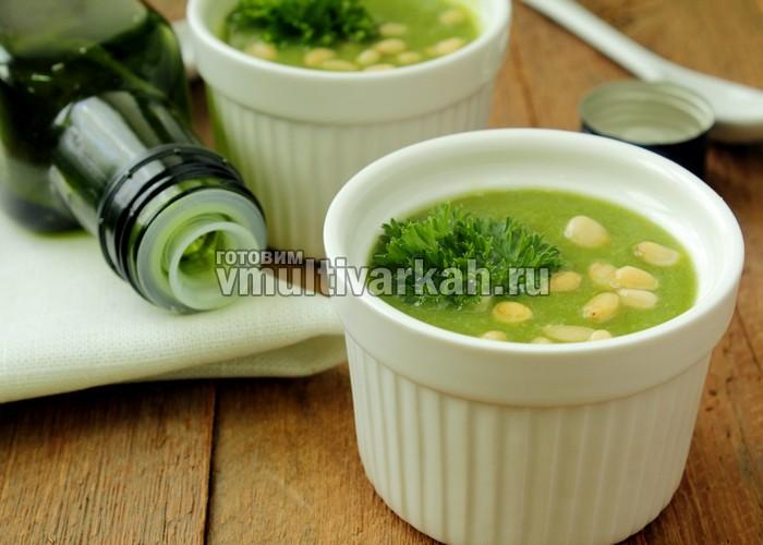 овощной суп-пюре в мультиварке