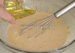 Слейте растительное масло