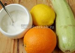 Подготовьте необходимые ингредиенты для варенья