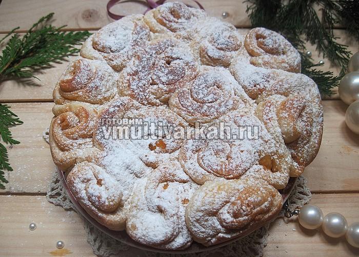Пирог на Рождество в мультиварке