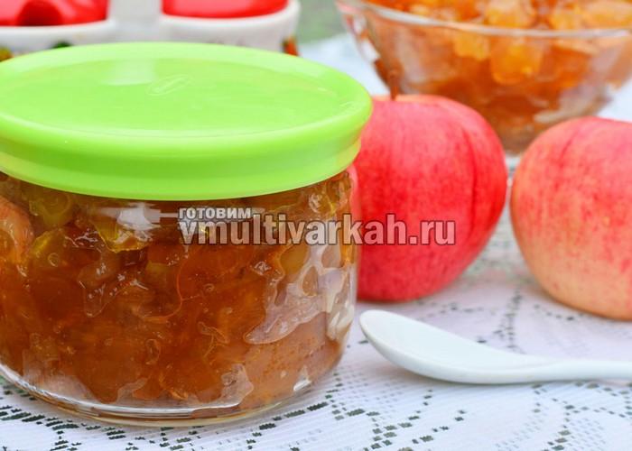 варенье из яблок и апельсинов в мультиварке