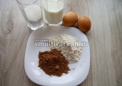 Подготовьте ингредиенты для кексов