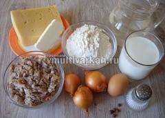 Подготовьте продукты для лазаньи