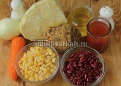Подготовьте ингредиенты для рагу
