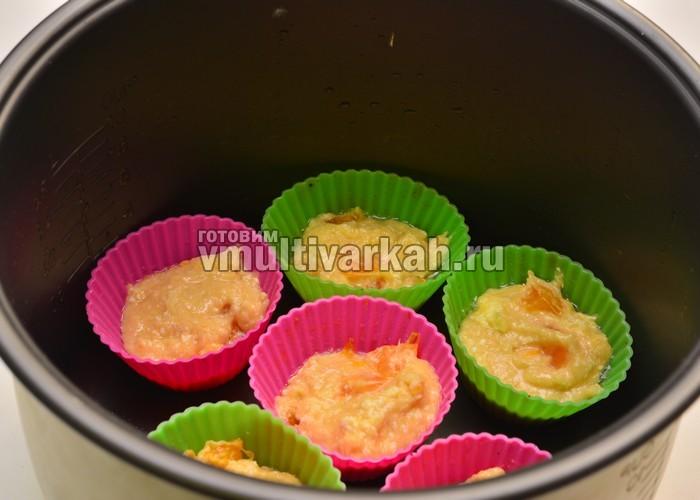 кексы рецепты в формочках в мультиварке рецепты с фото