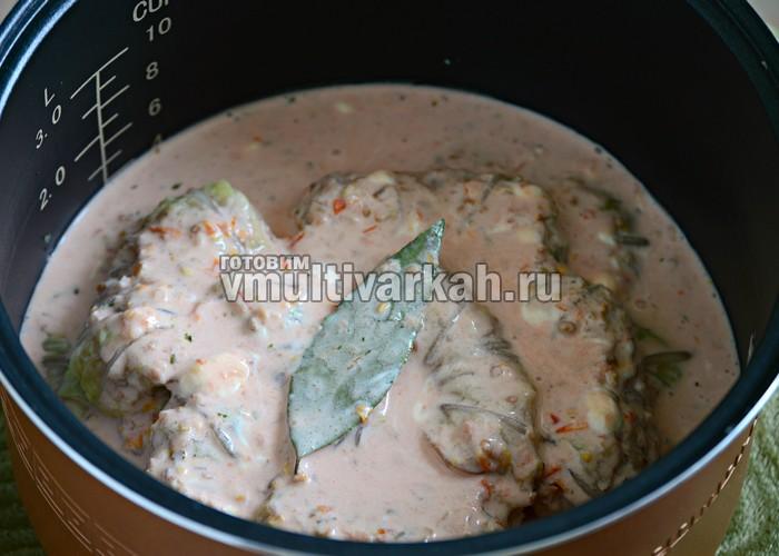 Голубцы рецепт в скороварке пошагово с
