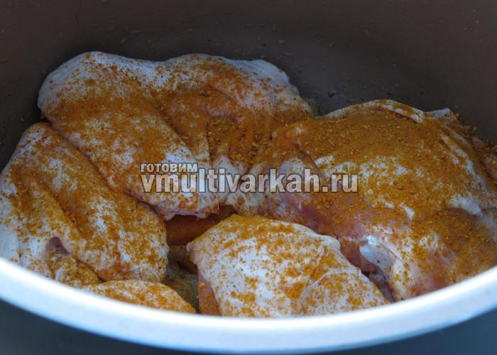 Куриное филе в мультиварке – Рецепты куриного филе в ...
