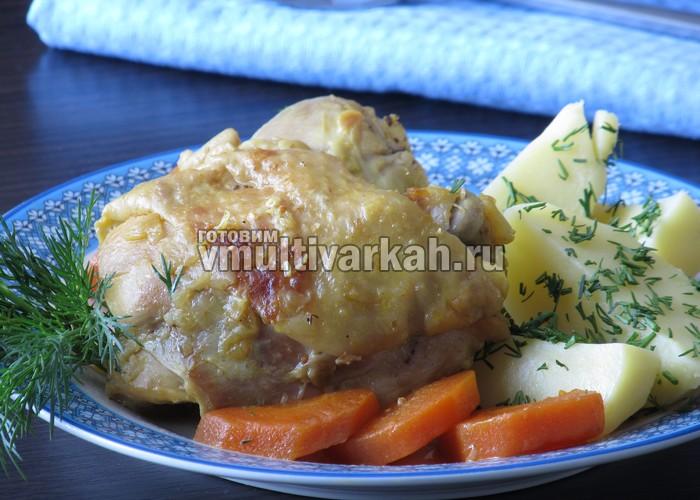Блюда из курицы на мультиварке рецепты