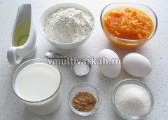 Приготовьте ингредиенты для блинов