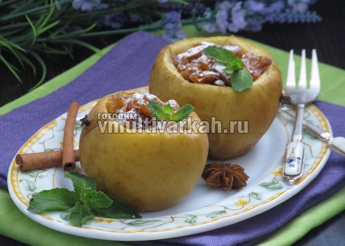 печеные яблоки в мультиварке