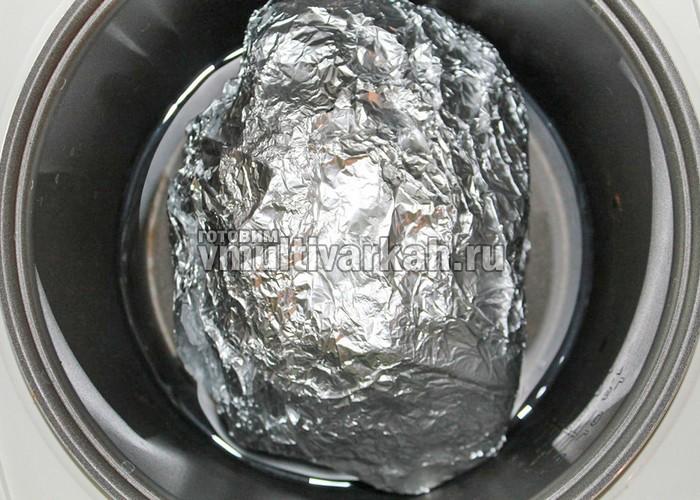 рецепт сала в фольге в мультиварке