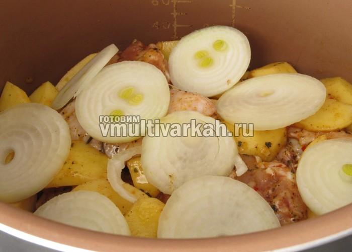 куриные крылышки в мультиварке с картошкой рецепты с фото