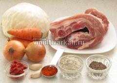 Подготовьте необходимые продукты