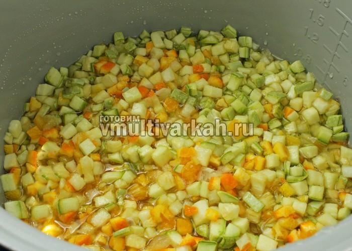 рецепт с фото варенье из кабачков с лимоном и апельсином