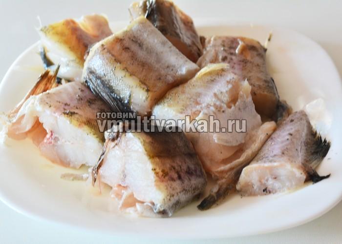 Минтай в мультиварке - пошаговый рецепт с фото на Повар.ру