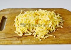 Сыр натрите на терке