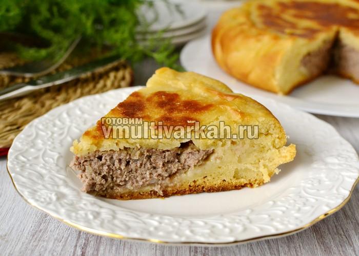 Пошаговые фото рецепты мясного пирога