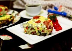 Подаем порционно, со свежими овощами