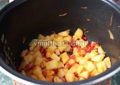 За это время картошка готова