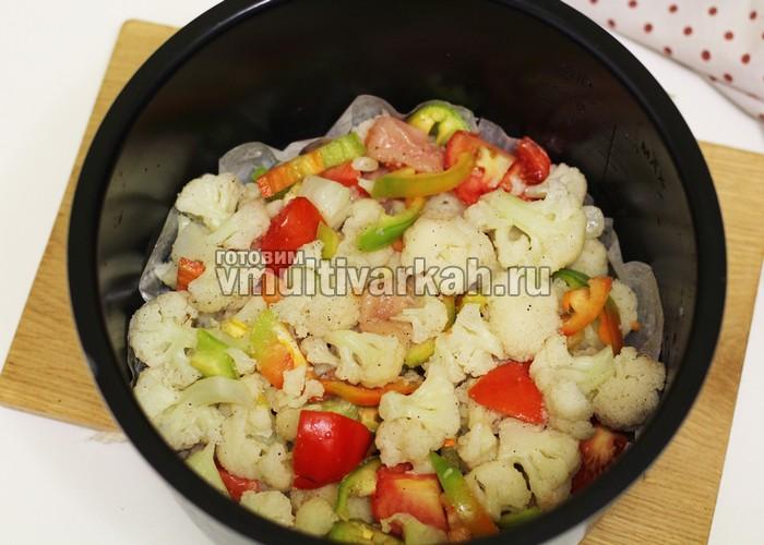 блюда в мультиварке рецепты с фото из капусты