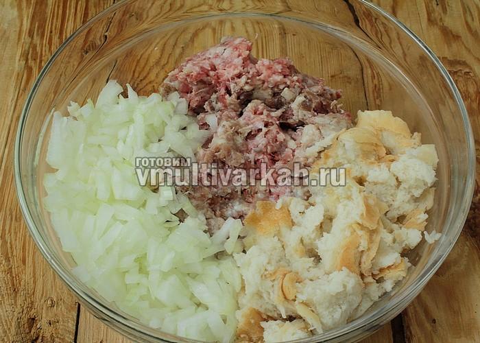 Рецепт котлет из свинины с говядиной в мультиварке