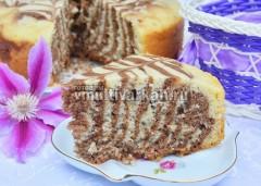 Быстрый пирог к чаю в мультиварке рецепт