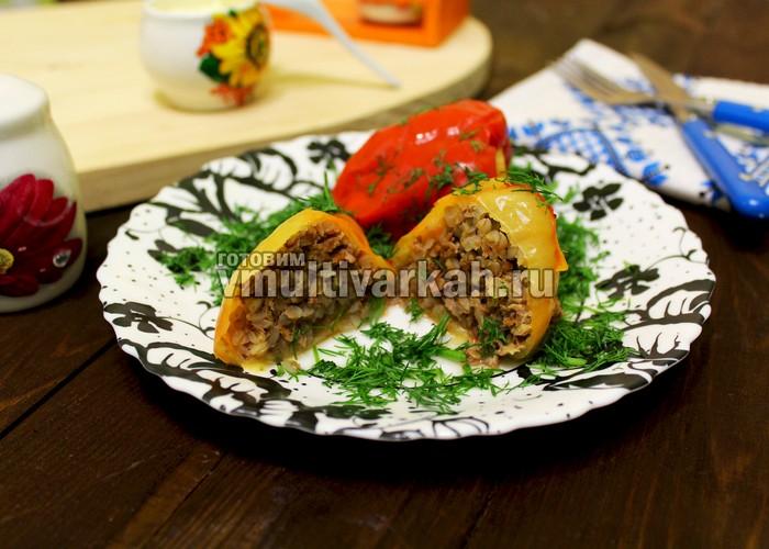 Перец фаршированный в скороварке рецепт с фото