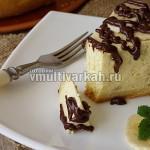 Чизкейк банановый в мультиварке рецепт с фото