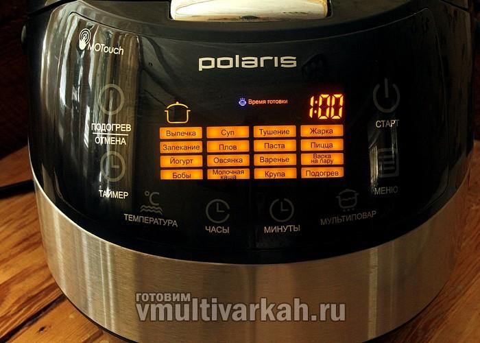 Рецепт приготовление в мультиварке поларис 0517