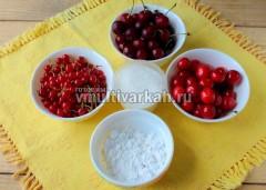 Подготовьте ингредиенты для киселя