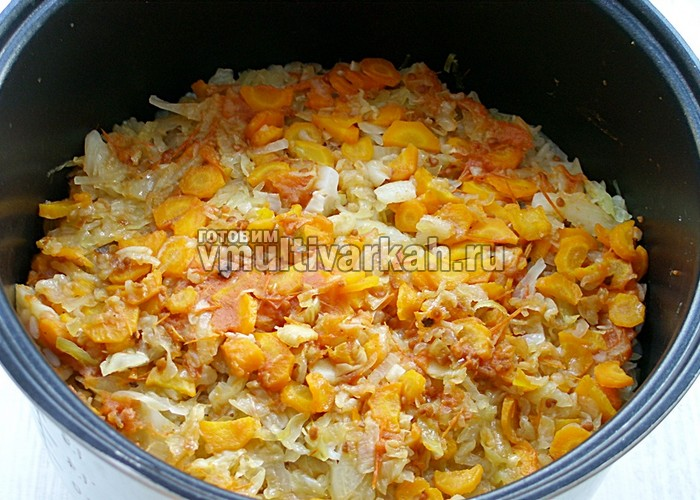 ленивые голубцы с рисом рецепт в мультиварке