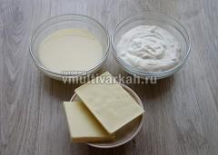 Подготовить продукты для крема и украшения