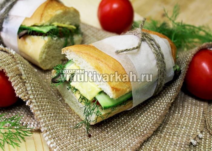 Сэндвич в мультиварке