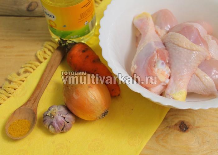 куриная голень с подливкой рецепт с фото